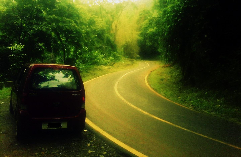 Highway through Western Ghats