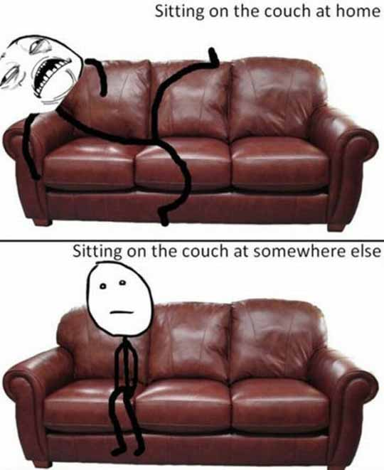 Couch - Home and Away