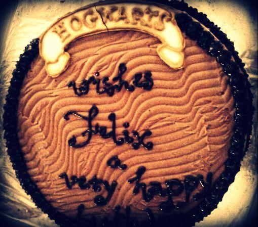 Hogwarts Cake
