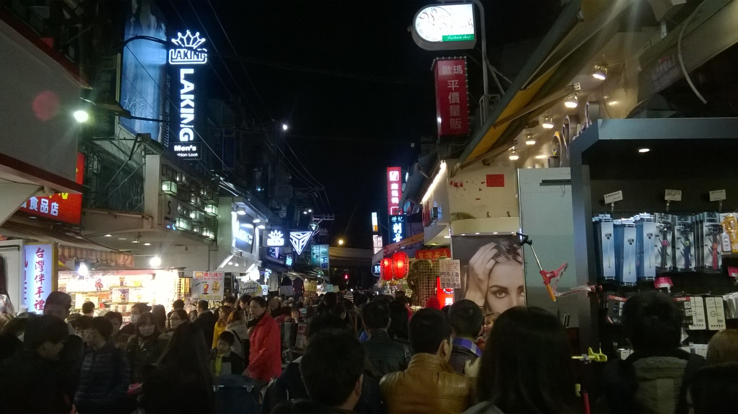 Day 1: Shilin Night Market