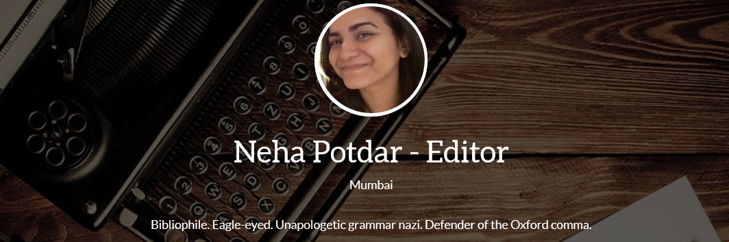 An interview with Neha Potdar